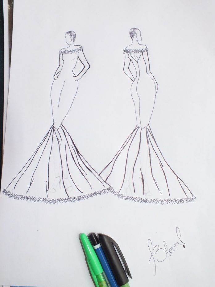 a guide to fashion designing, fashion sketching for beginners and fashion templates, drawing models